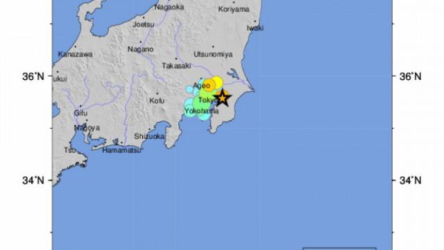 19 души са ранени при земетресение в Япония
