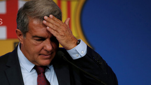 Лапорта: Надявах се Меси да играе без пари за Барселона