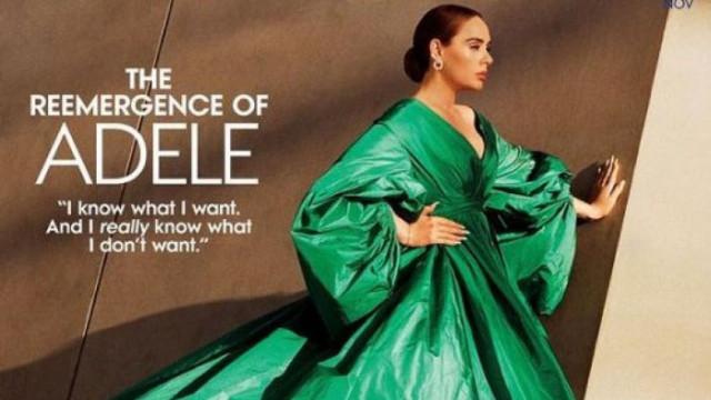 """От корицата на """"Вог"""": Адел отново впечатли света с поразителната си промяна"""