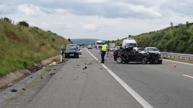 Мъж пострада в катастрофа във Великотърновско