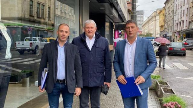 ГЕРБ-СДС регистрира листите с кандидатите си за депутати в София