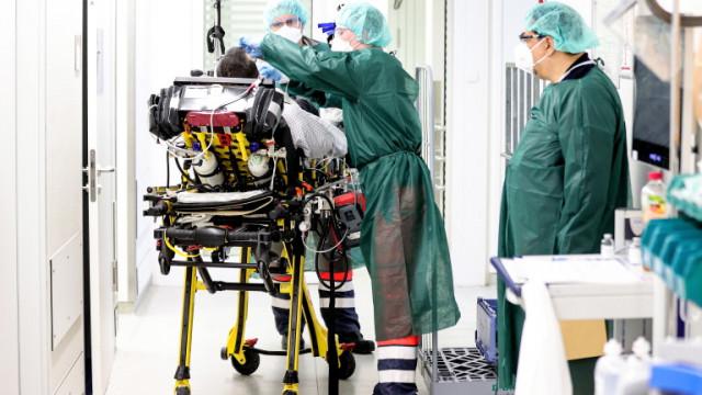 10% от COVID-19 пациентите в интензивните отделения в Германия са ваксинирани