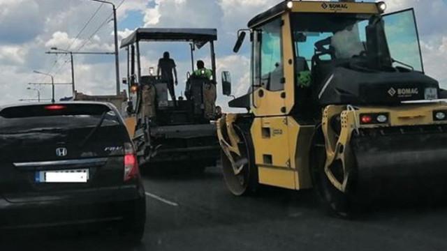 Продължава ремонтът на още 12 км от път I-2 в област Варна
