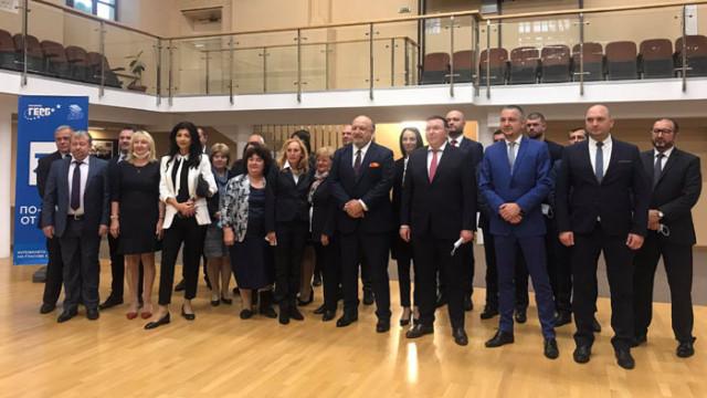 ГЕРБ-СДС представи кандидатите за народни представители от 3 МИР-Варна