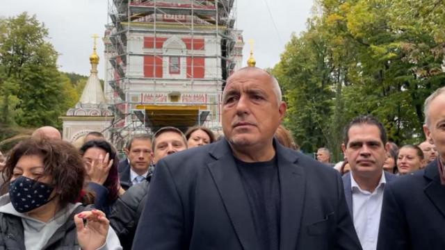 Борисов: Пак няма да направят правителство, няма отговорни партии и сериозни хора