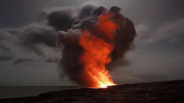 Отвори се нов кратер на вулкана на остров Ла Палма