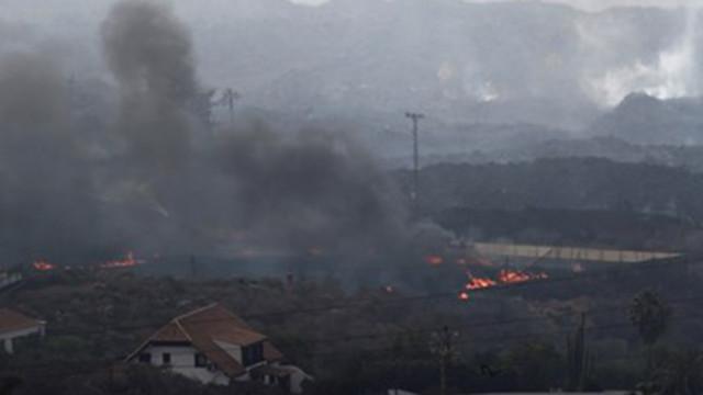Земетресение и отменени полети на остров Палма заради вулкана Кумбре Виеха