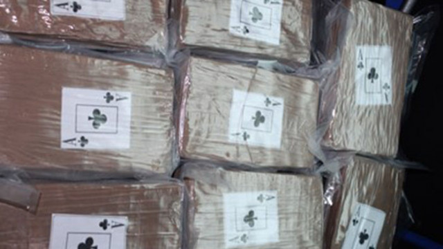 1,8 тона кокаин открити от митничари на пристанището на Ротердам
