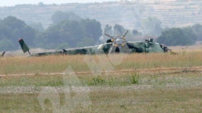 Трима души загинаха днес при катастрофа на хеликоптер в германската