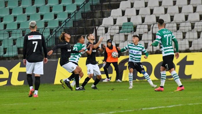 Черно море и Славия завършиха наравно 1:1 в мач от
