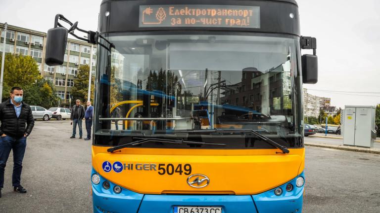 Доставиха нови 30 електробуси на столичния автотранспорт. Продължаваме да обновяваме