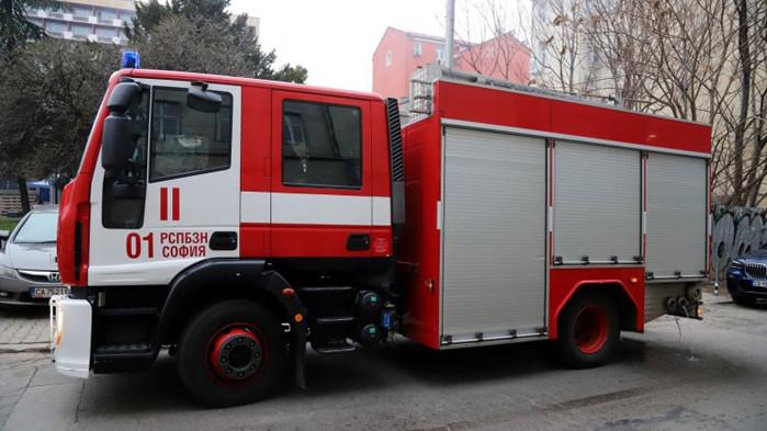 Сигнал за пожар в Пета МБАЛ в София. На място