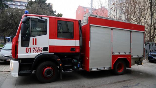 Проверяват сигнал за пожар в Пета МБАЛ в София