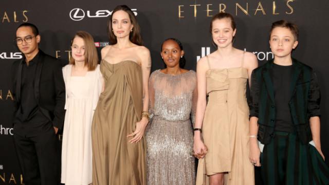 Анджелина Джоли и премиерата на Eternals в Лос Анджелис