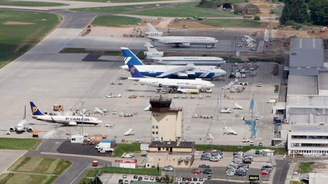 Германското летище за нискотарифни полети Frankfurt Hahn фалира