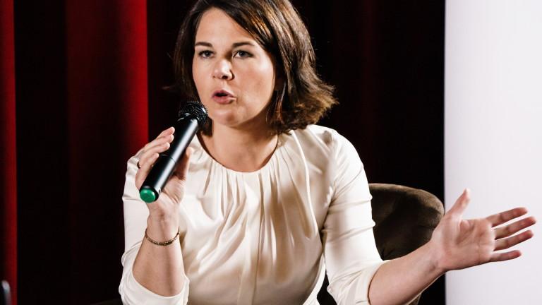 Лидерът на германската Зелена партия Аналена Бербок заяви, че тръбопроводът