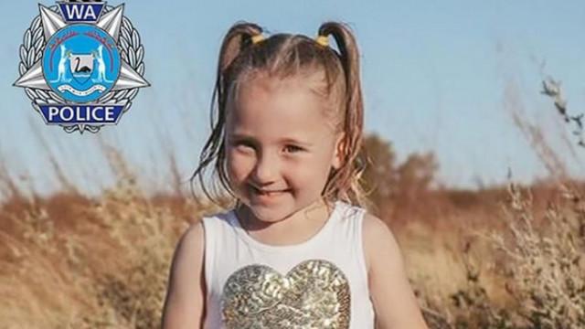 Австралия търси изчезнало 4г. момиче с награда от 750 000 $