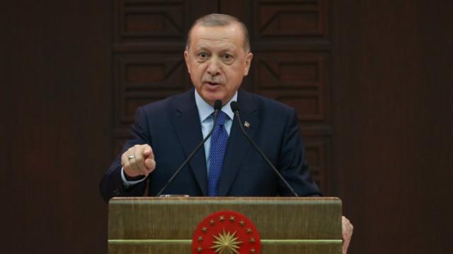 Ердоган изригна срещу 10 посланици на западни държави, заплаши да ги изгони