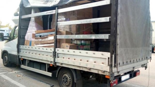 """Спипаха 79 пакета с хероин, скрит в кашони в камион на """"Дунав мост"""" 2"""