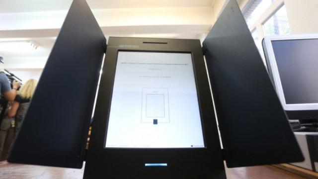 ЦИК предупреждава Янев за проблем със съхранението на машините за вота, реакция - нулева