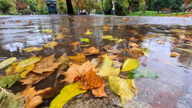 Започва захлаждане, валежи от дъжд в цялата страна