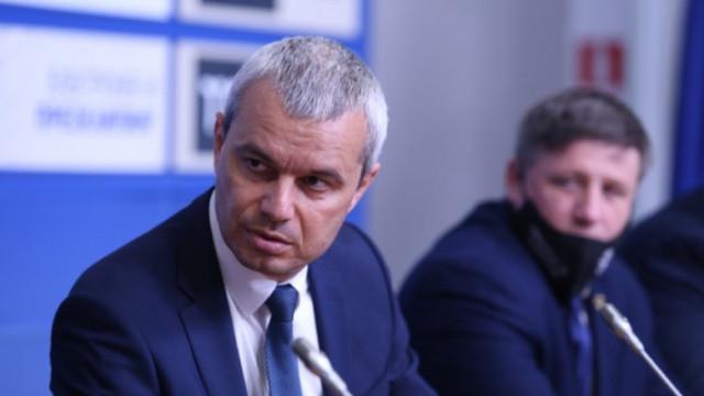Костадинов: Радев и Янев нямат смелост да говорят с протестиращите