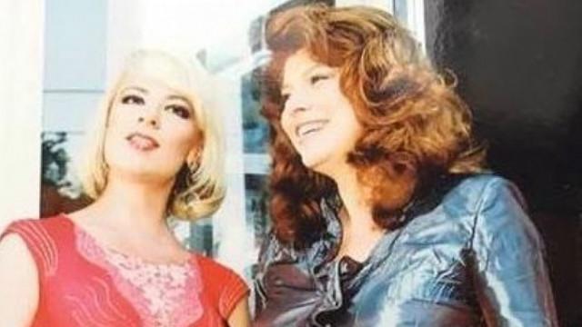Нона Йотова честити рождения ден на Илияна Йотова с архивна снимка