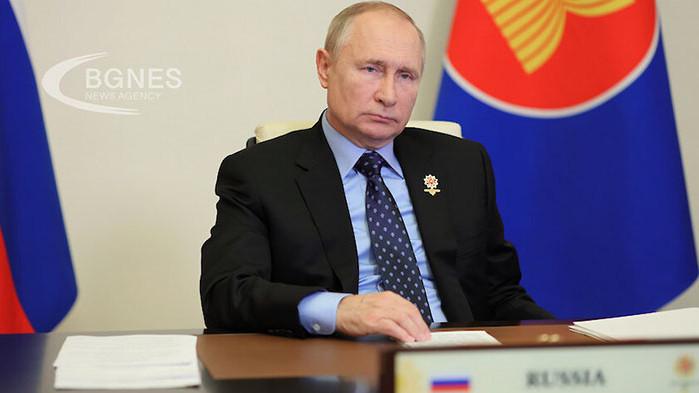 Президентът Владимир Путин разпореди да започне подаване на повече газ