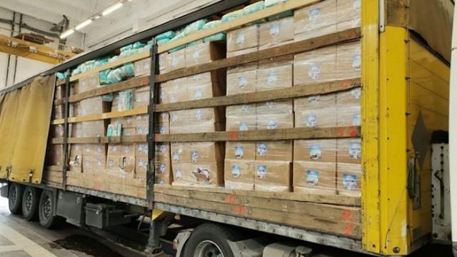 Пресякоха канал за пестициди, задържани са 18 тона