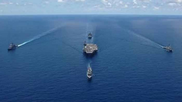 Турция и САЩ проведоха съвместни учения в Средиземно море