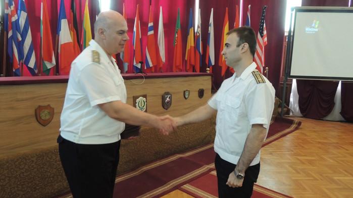Бяха наградени военнослужещи и цивилни служители от Военноморските сили
