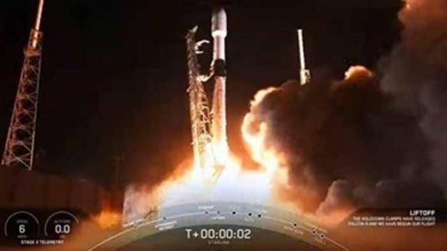 """""""СпейсЕкс"""" отложи за 1 септември изстрелване на щ група спътници """"Старлинк"""""""