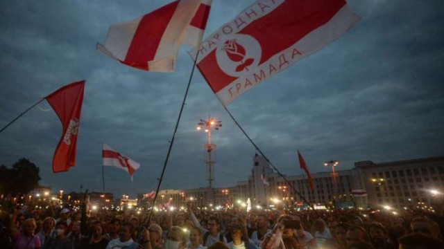 Задържани са 75 протестиращи в Минск