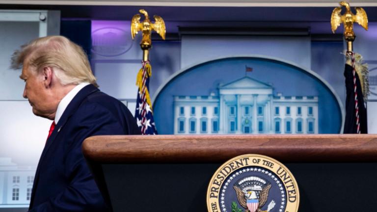 Проучване: Тръмп може да отхвърли поражение и да предизвика конституционна криза