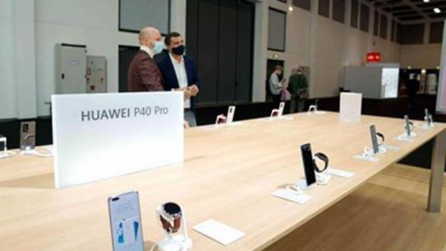 """""""Хуауей"""" планира разширяване на присъствието си в Европа"""