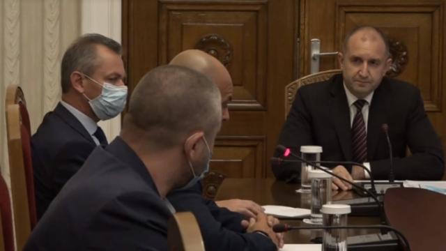 Ивайло Иванов пред Румен Радев: Поздравявам полицаите за перфектно свършената работа на протестa