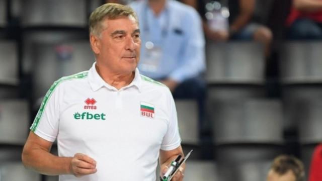 Пранди за трети път треньор на България