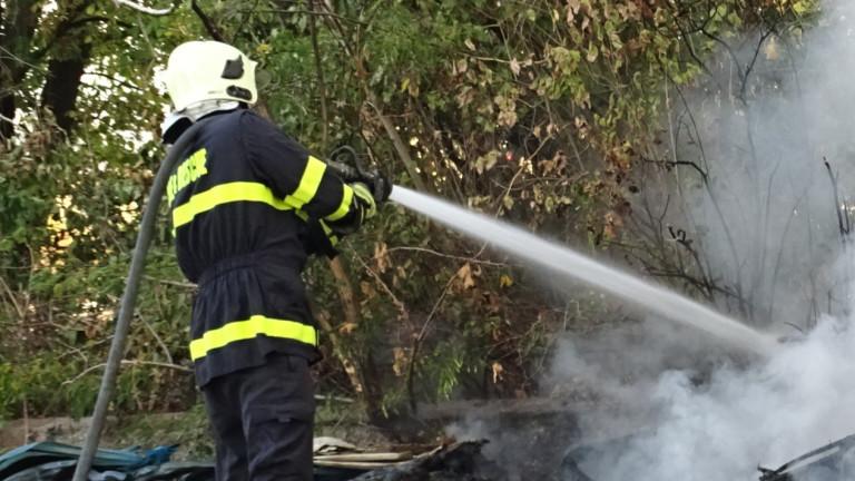 Автобус с военни се запали в Силистренско