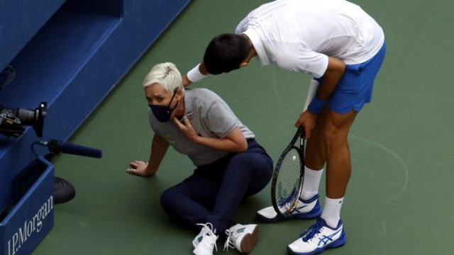 Джокович се извини за поведението си