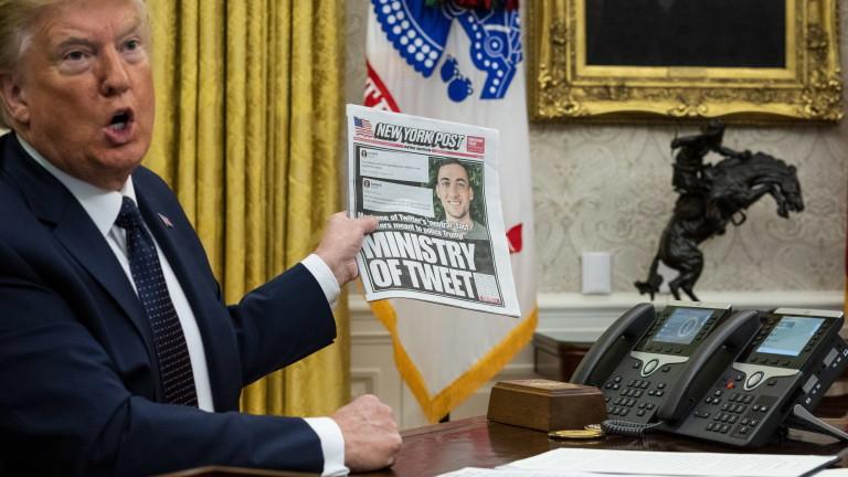 Twitter срещу Тръмп: Президентът застрашава свободата на словото и демократичните ценности