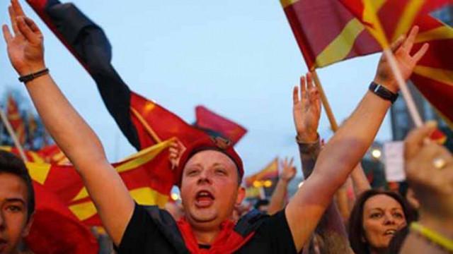 Хиляди протестираха в Скопие срещу скока на тока
