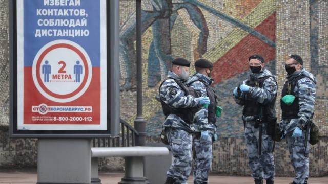 COVID-19: Нов черен рекорд в Русия на починалите за 24 часа
