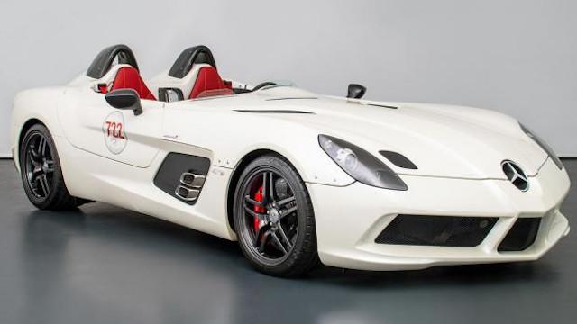 Mercedes-Benz SLR McLaren Stirling Moss с 660 коня, без покрив и цена от 5,7 млн. лв.