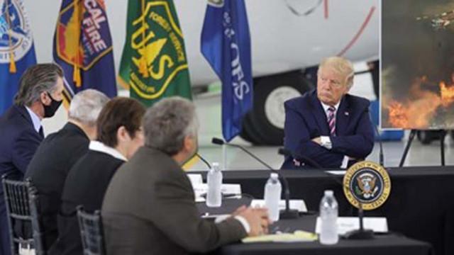 """Тръмп за климатичните изменения: """"Накрая ще има захлаждане"""""""