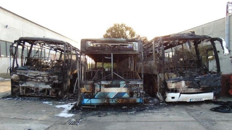 Прокуратурата в Ямбол иска постоянен арест за мъжа, подпалил 3 автобуса