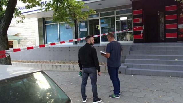 Малка сума пари е открадната при банковия обир в Сандански