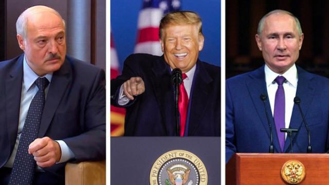 Путин, Тръмп и Лукашенко с анти-Нобелови награди