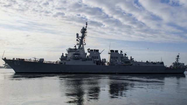 Кораб на ВМС на САЩ идва на посещение във Варна