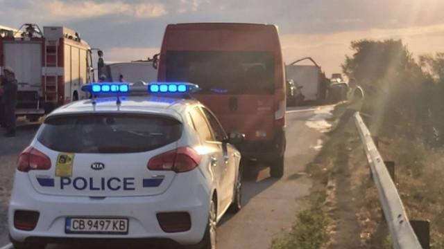 Жестока катастрофа в Искърското дефиле: Една загинала и трима ранени