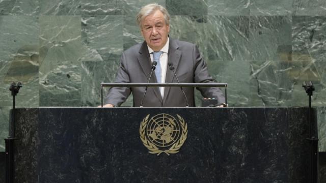 Гутериш предупреди, че светът се движи към геополитически и военни конфликти